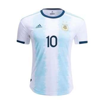 تیشرت ورزشی مردانه طرح تیم ملی آرژانتین مدل 2021