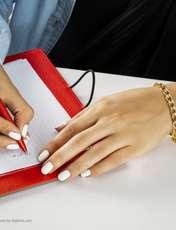 دستبند زنانه آیینه رنگی کد KR020 -  - 2