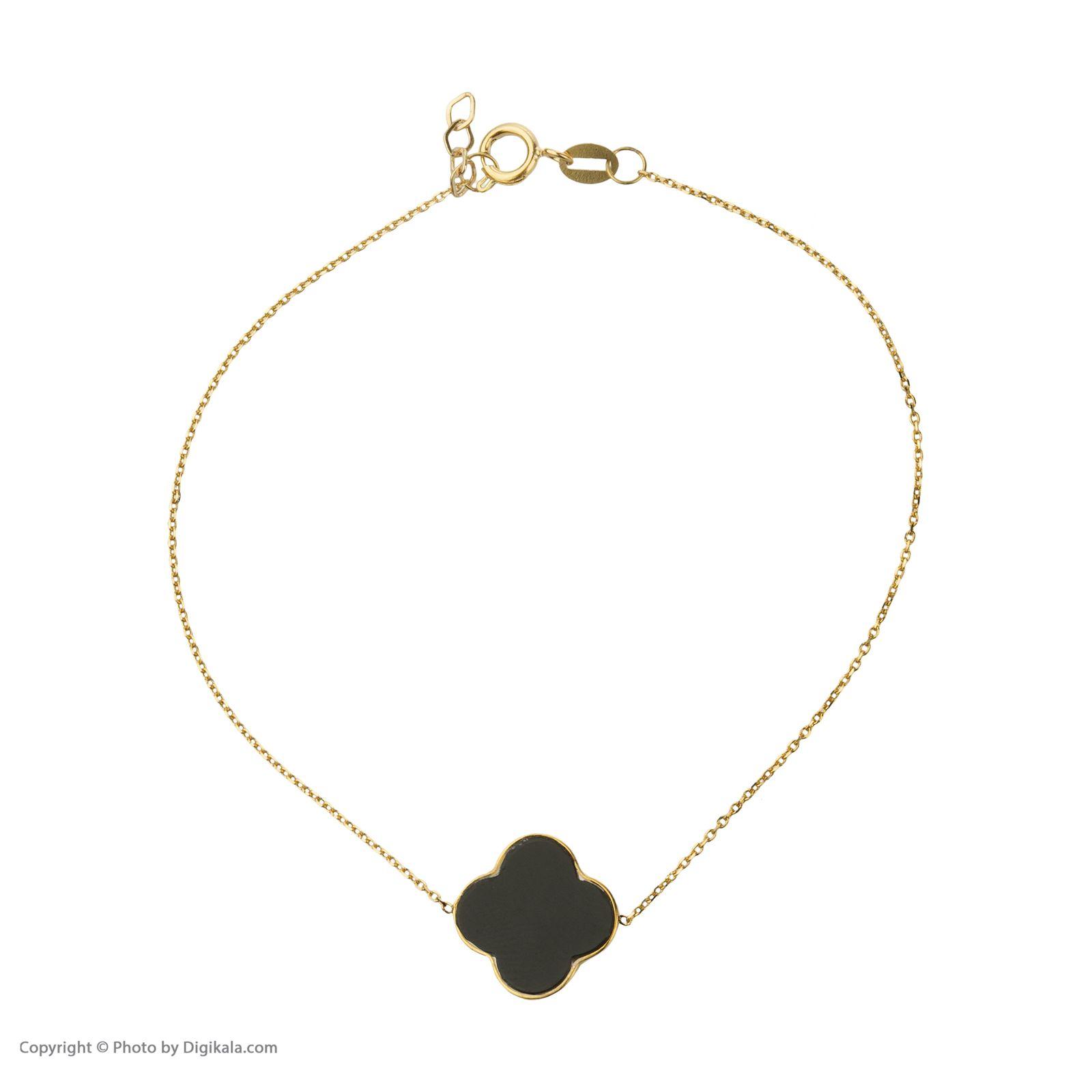 دستبند طلا 18 عیار زنانه میو گلد مدل GD626 -  - 3