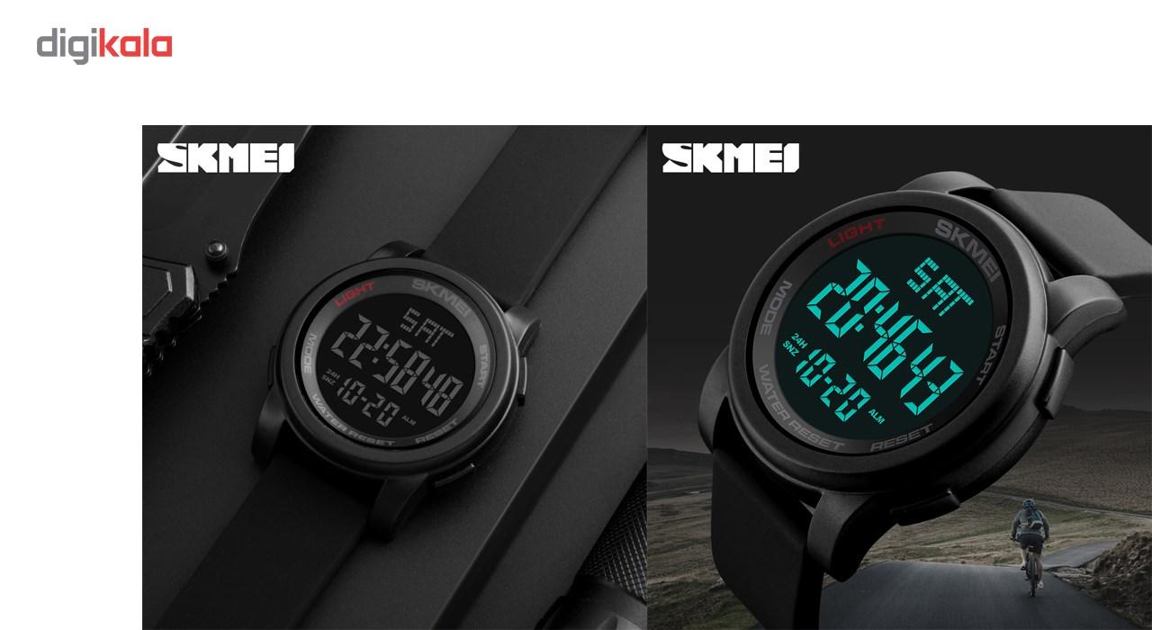 خرید ساعت مچی دیجیتالی اسکمی مدل 1257