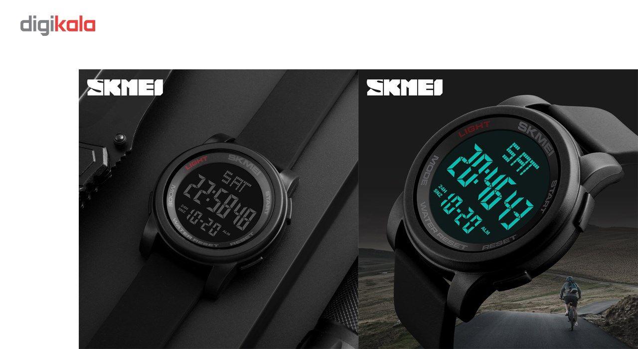 ساعت مچی دیجیتالی اسکمی مدل 1257 -  - 3