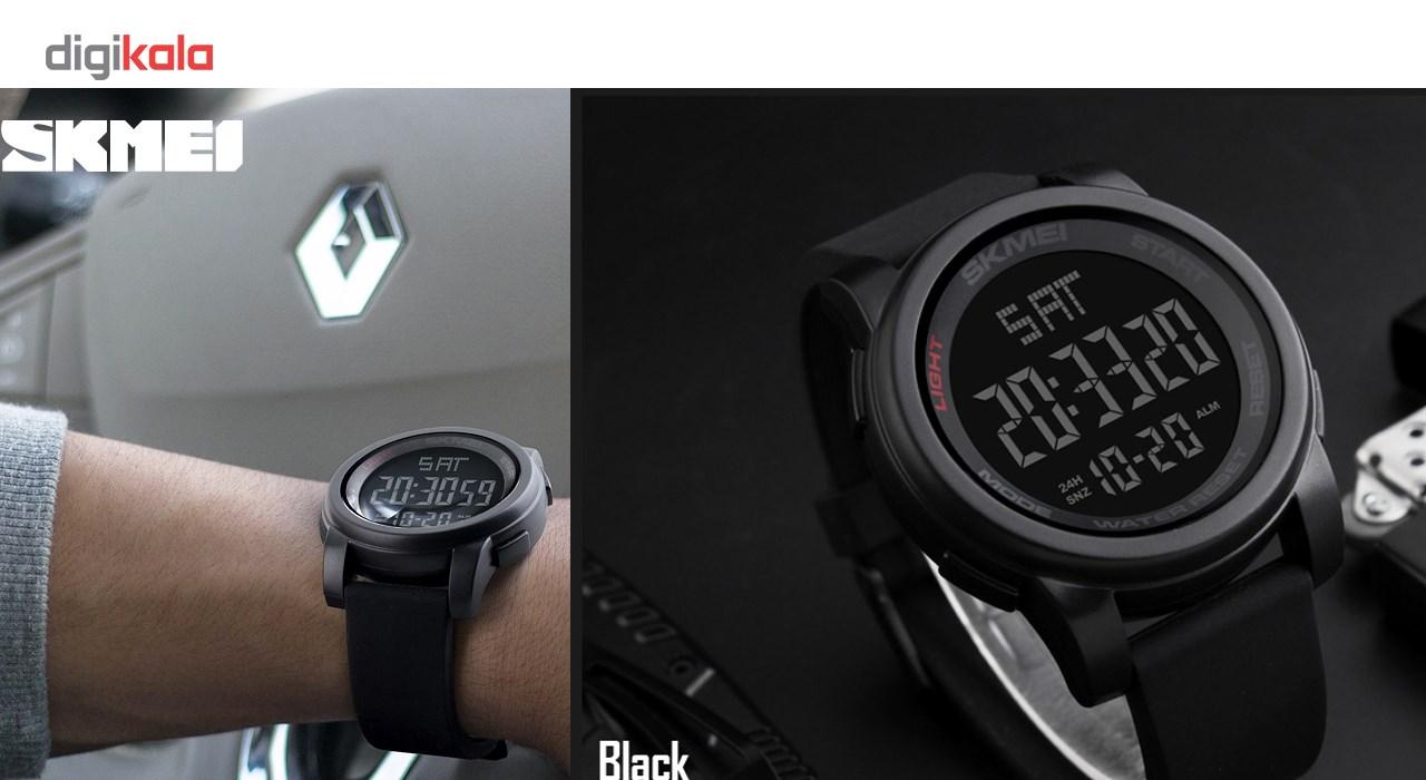 خرید اینترنتی                     ساعت مچی دیجیتالی اسکمی مدل 1257