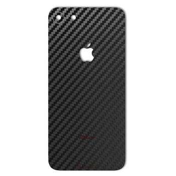 برچسب پوششی ماهوت مدل Carbon-fiber Texture مناسب برای گوشی  iPhone 8