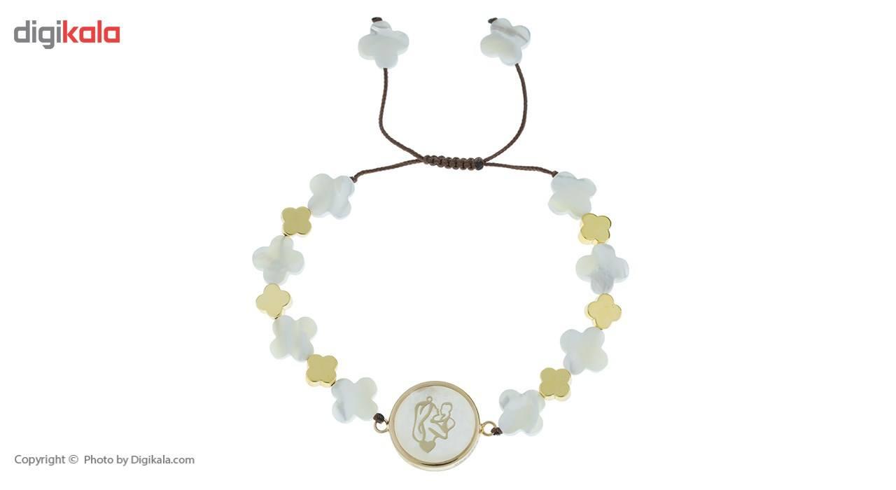دستبند طلا 18 عیار ماهک مدل MB0404 - مایا ماهک -  - 2