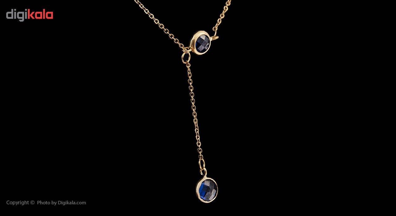 گردنبند طلا 18 عیار ماهک مدل MM0582 - مایا ماهک -  - 2