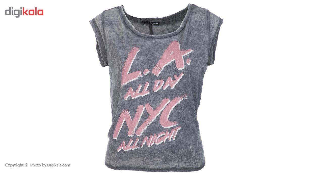 تی شرت آستین کوتاه زنانه تالی ویجی 155-76