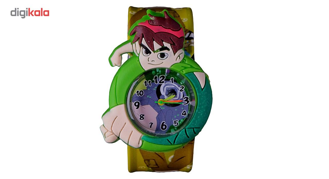 ساعت مچی عقربه ای بچگانه مدل بن تن