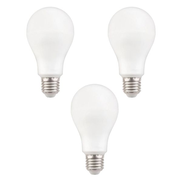 لامپ ال ای دی 20 وات هالی استار کد A80 پایه E27 بسته 3 عددی