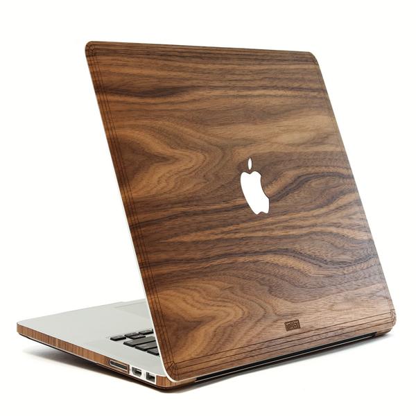 کاور چوبی تست مدل Apple Logo مناسب برای مک بوک ایر 13 اینچی
