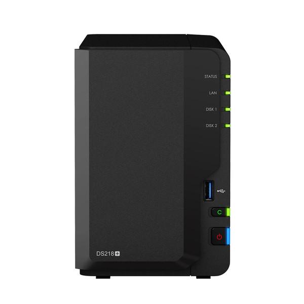 ذخیره ساز تحت شبکه 2Bay سینولوژی مدل دیسک استیشن DS218Plus