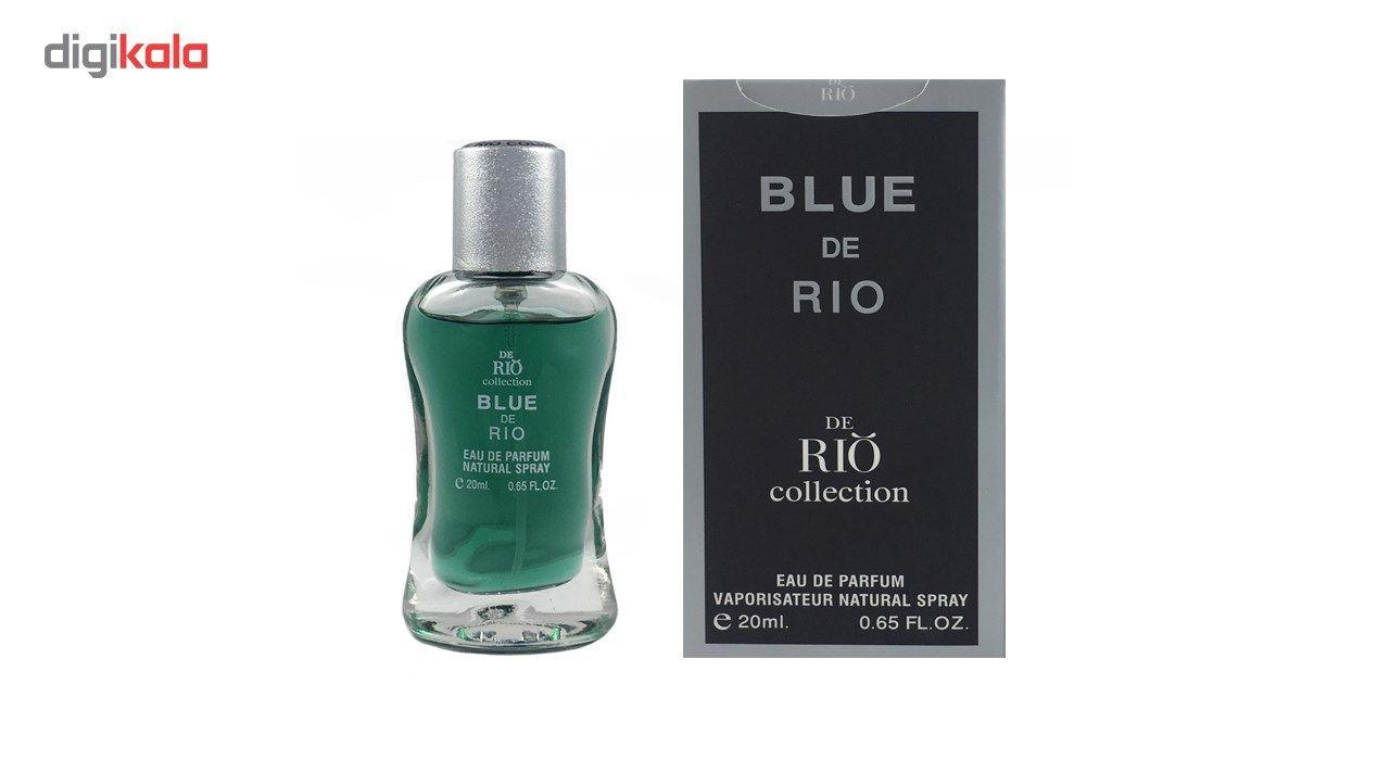 عطر جیبی مردانه ریو کالکشن مدل Rio Blue De Rio حجم 20ml main 1 2