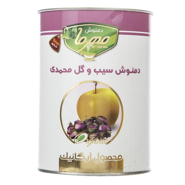 دمنوش سیب و گل محمدی مهرما مقدار 100 گرمی