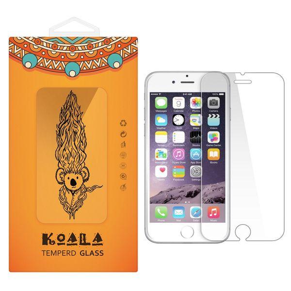 محافظ صفحه نمایش شیشه ای کوالا مدل Tempered مناسب برای گوشی موبایل اپل آیفون 6/6S