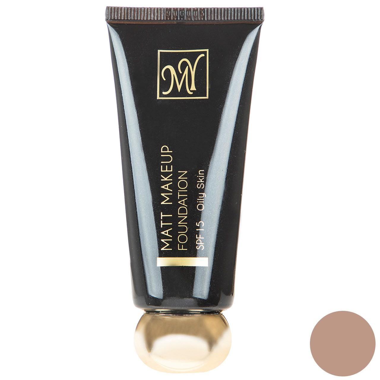 قیمت کرم پودر مای سری Black Diamond مدل Matt Makeup شماره 06