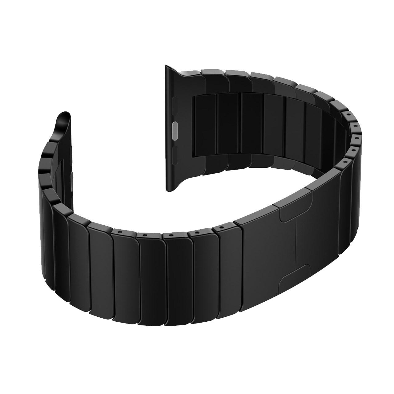بررسی و {خرید با تخفیف} بند فلزی مدل Link Bracelet مناسب برای اپل واچ 42 میلی متری اصل