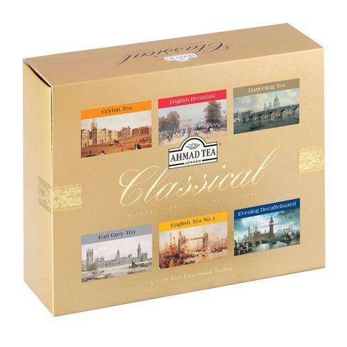 چای کیسه ای چای احمد مدل Classical بسته 60 عذدی