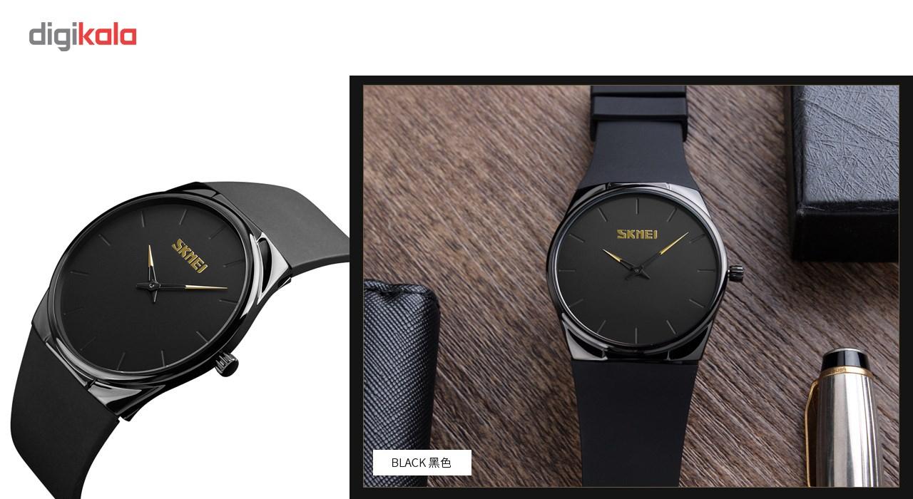 ساعت مچی عقربه ای مردانه اسکمی مدل 1601 کد 01