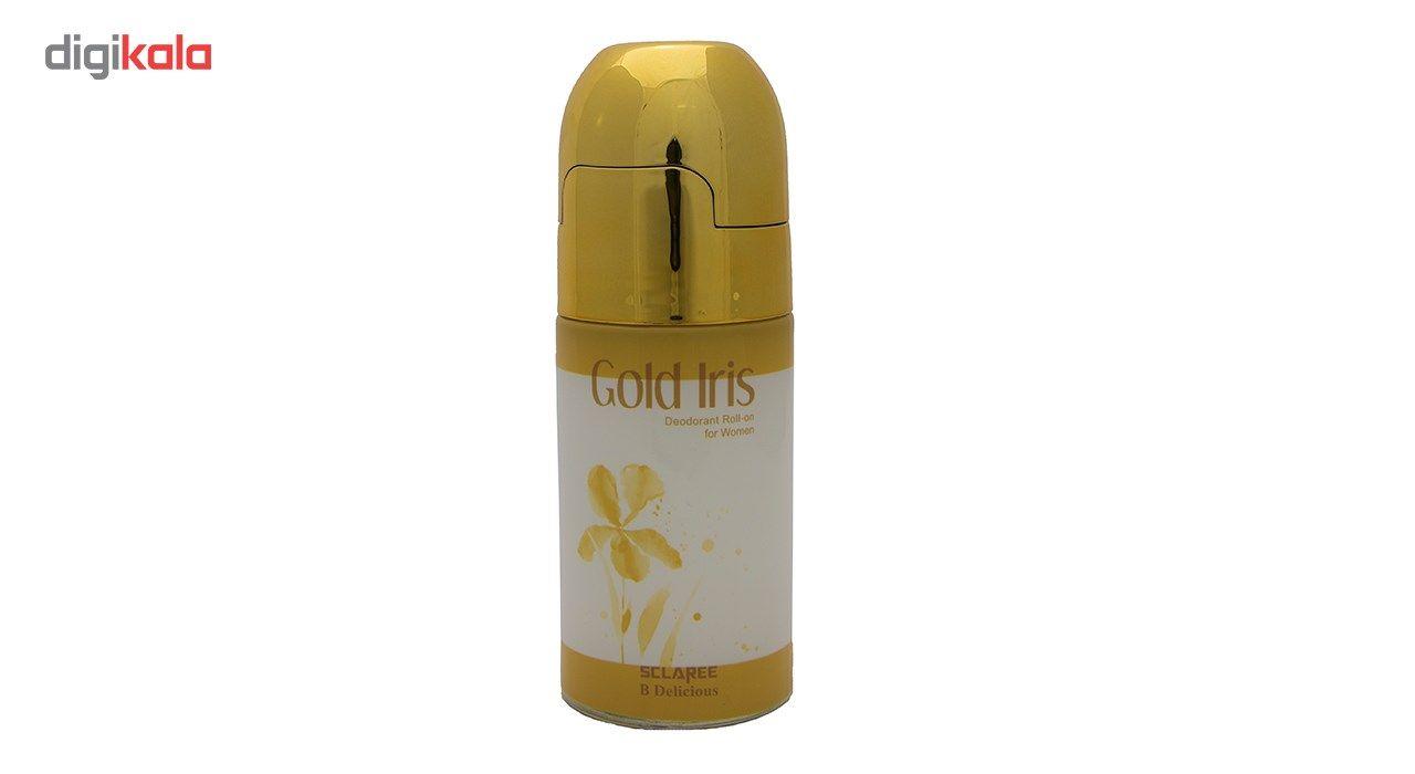 رول ضد تعریق زنانه اسکلاره مدل Gold Irisحجم 60 میلی لیتر main 1 1