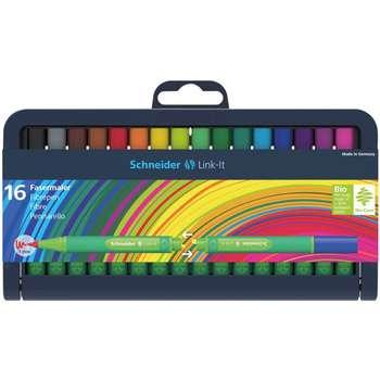 ماژیک رنگ آمیزی 16 رنگ اشنایدر مدل Link-It