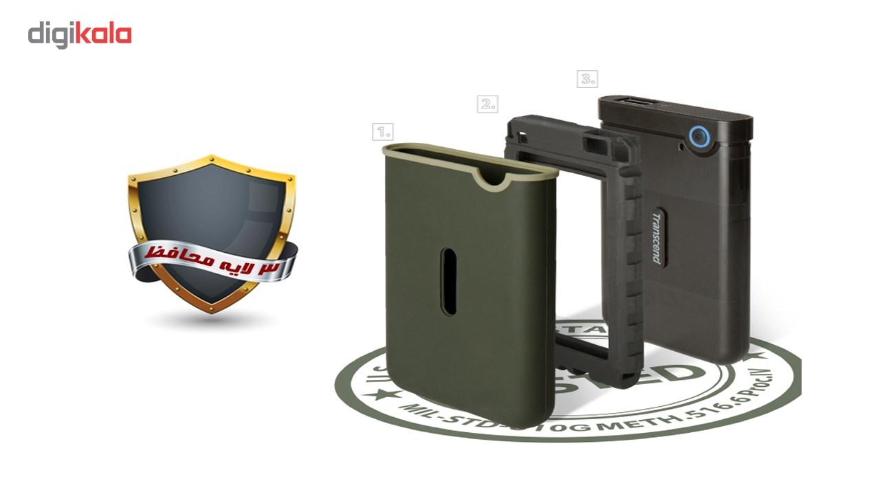 هارد اکسترنال ترنسند مدل StoreJet 25M3S Slim  ظرفیت 2 ترابایت