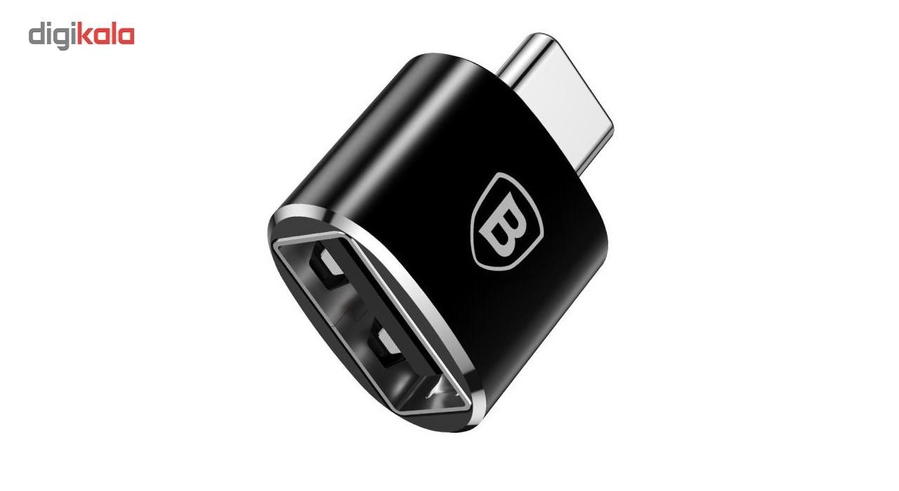 مبدل USB به Type-C باسئوس مدل CATOTG-01 main 1 1