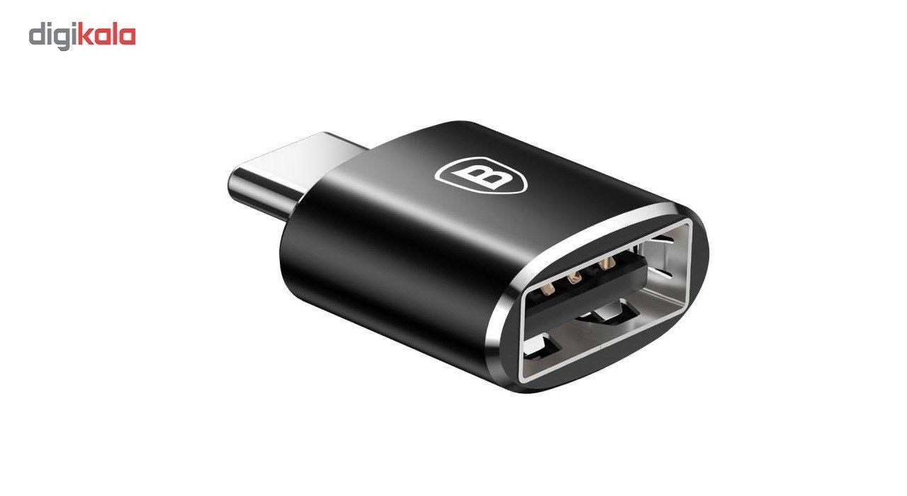 مبدل USB به Type-C باسئوس مدل CATOTG-01 main 1 2
