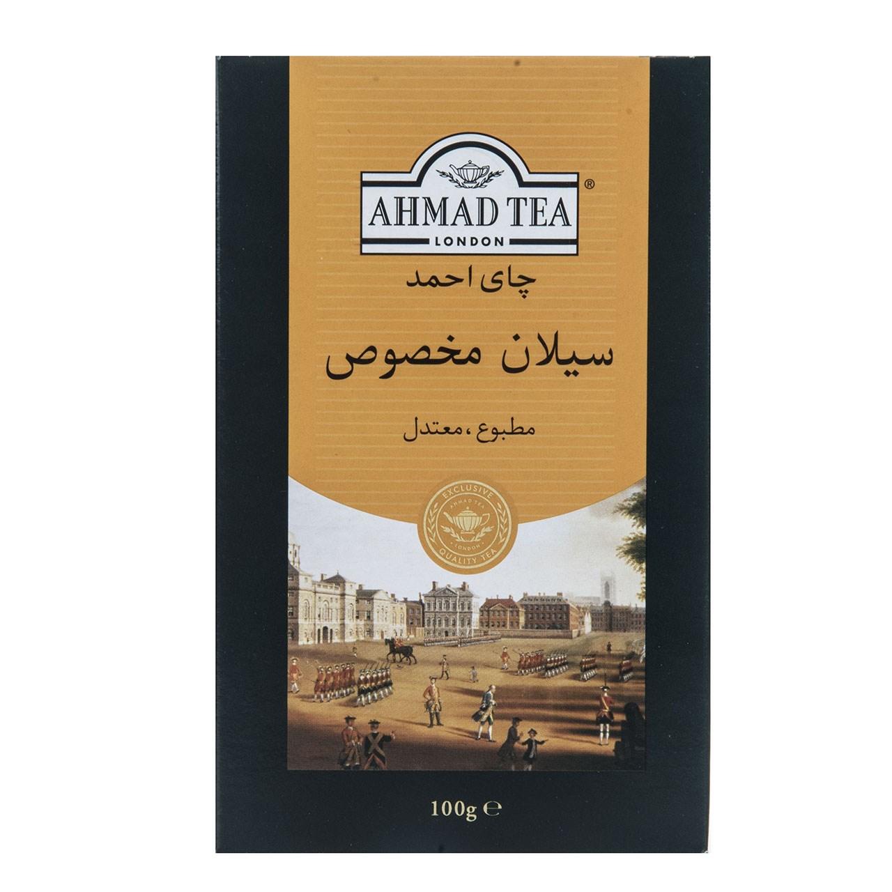 چای سیاه احمد مدل Ceylon Plus مقدار 100 گرم