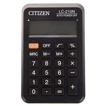 تصویر ماشین حساب جیبی سیتیزن مدل LC-210N /