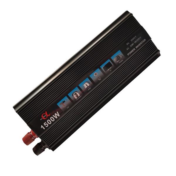مبدل برق خودرو آلفا مدل 12V-TO-220V-1500W