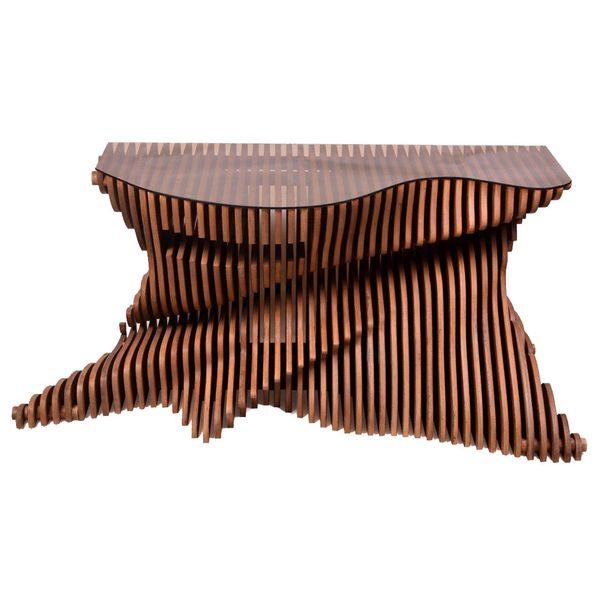 کنسول چوبی پاراگالری کد 2