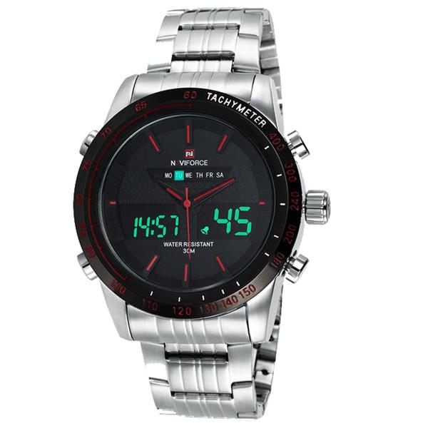 ساعت مچی عقربه ای مردانه نیوی فورس مدل NF9024M/SBR