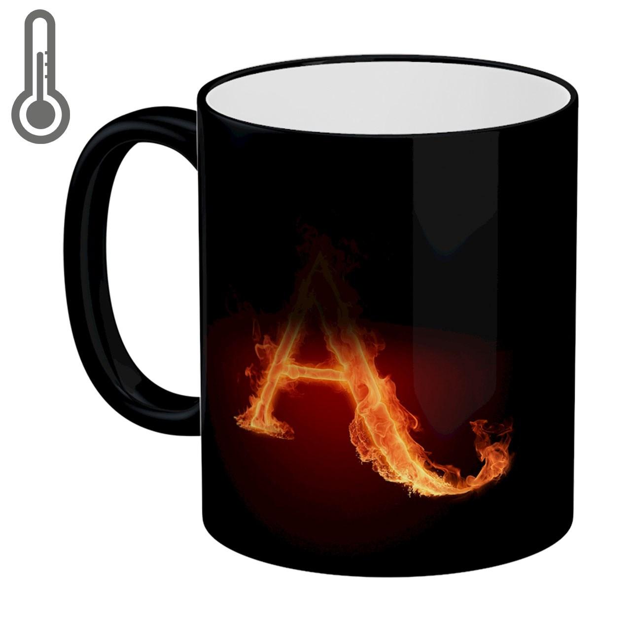ماگ حرارتی لومانا طرح A  کد MAG0602