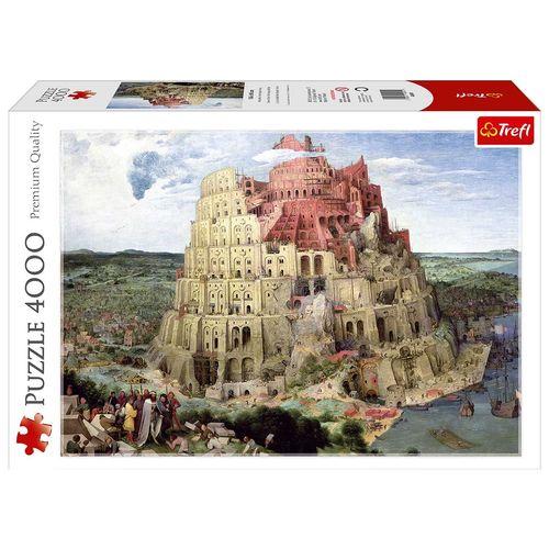 پازل 4000 تکه ی ترفل مدل برج بابل