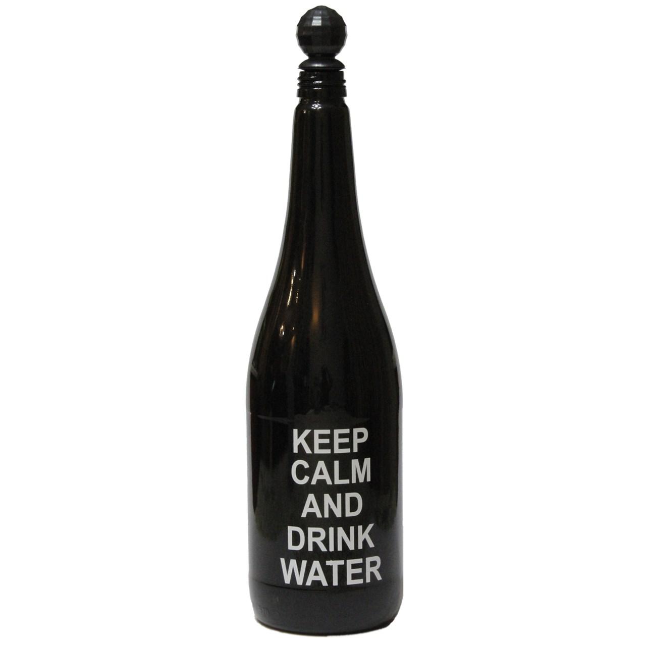 خرید بطری آب نقطه مدل Keep Calm