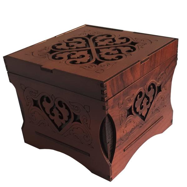 جعبه هدیه مدل تیدا کد  B102