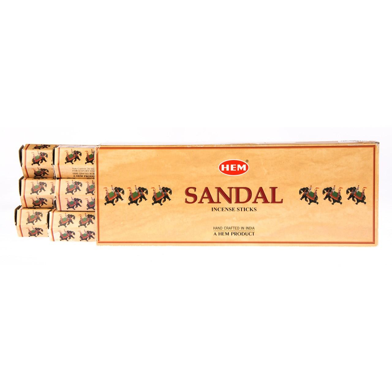 عود هم مدل Sandal کد 1029 6 بسته 20 عددی