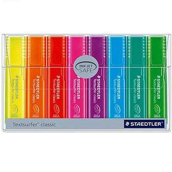 ماژیک علامت گذار استدلر مدل Textsurfer Classic 8 Colors