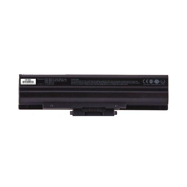 باتری لپ تاپ یوبی سل 6 سلولی برای لپ تاپ Sony Vgp-BPS13