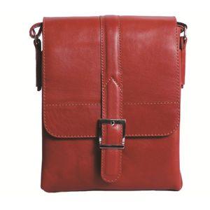 کیف دوشی چرم ما مدل جلوسگک