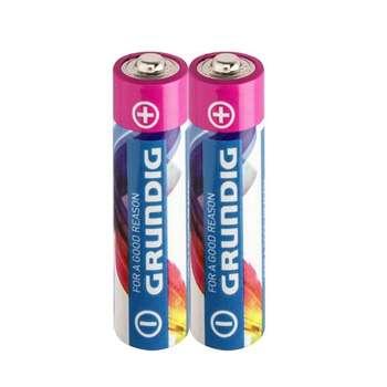 باتری قلمی گراندیگ مدل Alkaline با ظرفیت 2100 میلی آمپر ساعت بسته 2 عددی