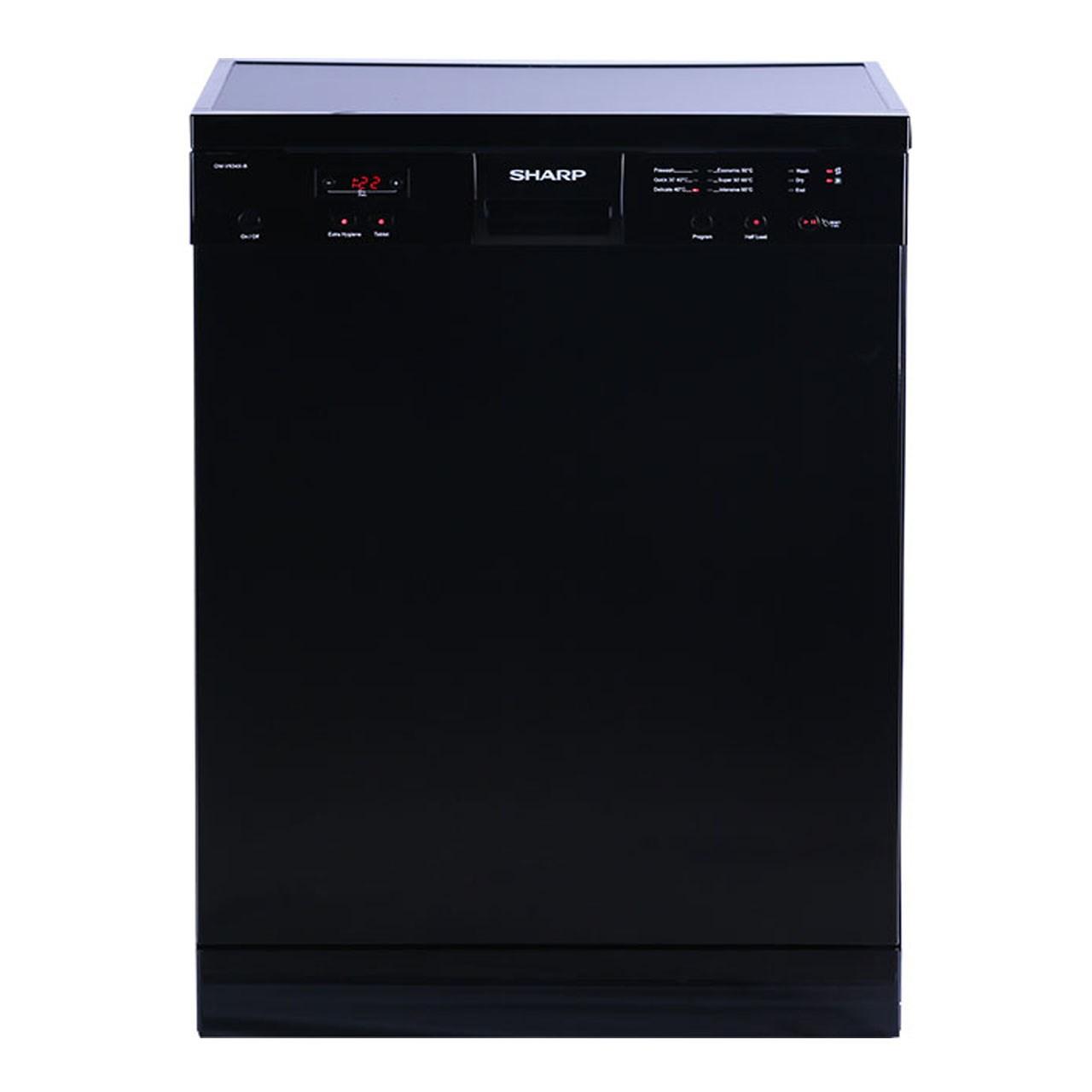 ظرفشویی شارپ مدل QW-V634 ظرفیت 12 نفر
