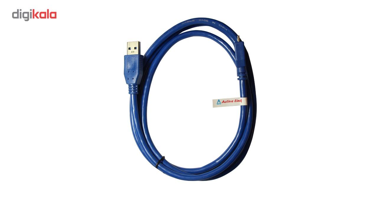 کابل USB 3.0 به MICRO USB 3.0  اکتیو لینک به طول 1.5 متر main 1 2