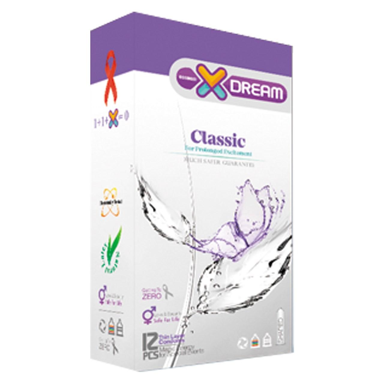 قیمت کاندوم ایکس دریم مدل Classic بسته 12 عددی