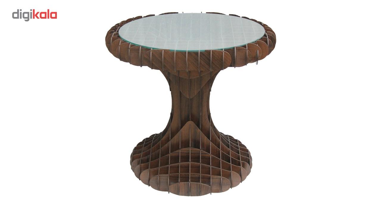 میز عسلی کارا دیزاین مدل J01