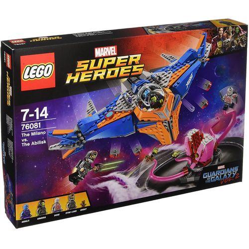لگو سری Marvel Super Heroes مدل The Milano Vs The Abilisk 76081