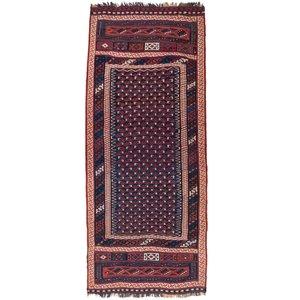 گلیم دستباف قدیمی پنج متری سی پرشیا کد 102250