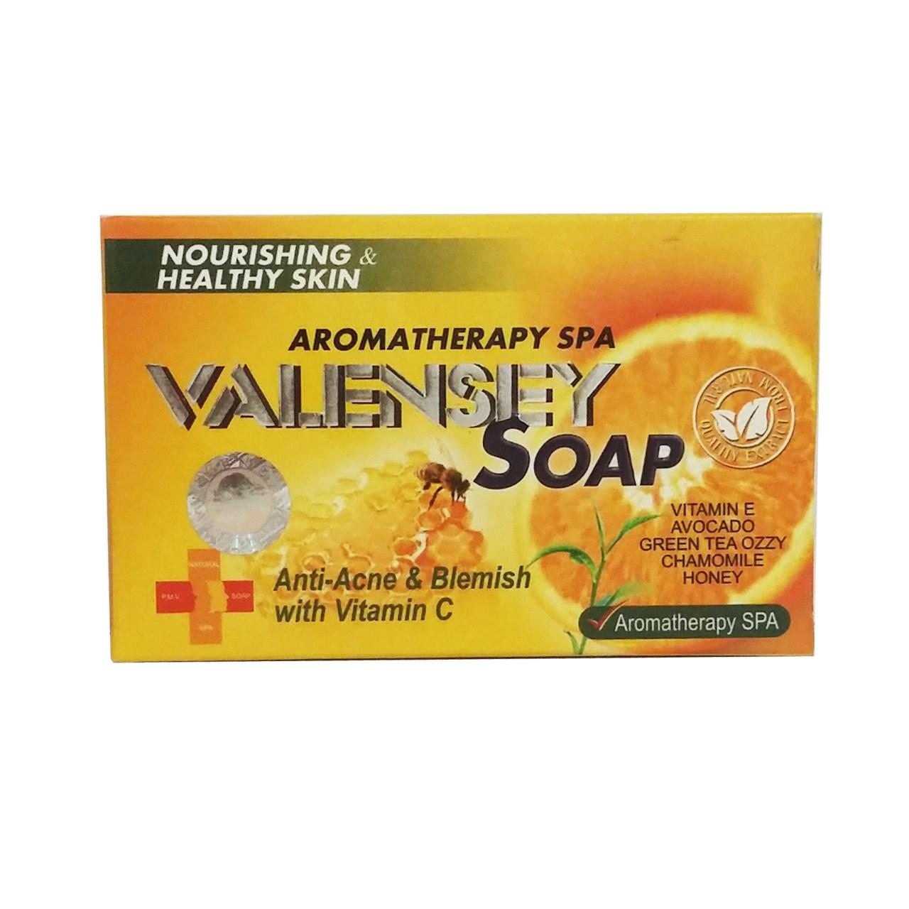 قیمت صابون ضدلک والنسی حاوی عصاره عسل و پرتقال مقدار 120 گرم