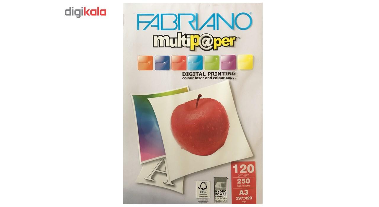 قیمت                      کاغذ فابریانو مدل G120 سایز A3 بسته 250 عددی