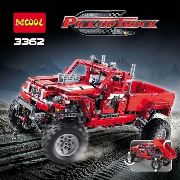 ساختنی دکول مدل Pick Up Truck 3362
