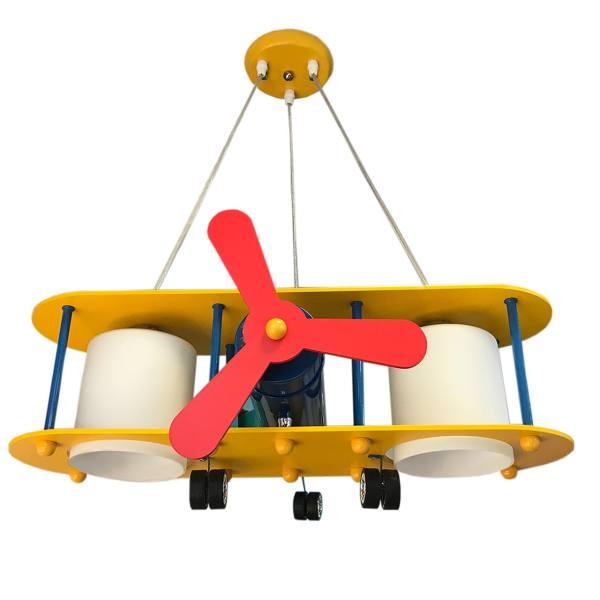 لوستر کودک ویتالایتینگ مدل هواپیمای ملخی